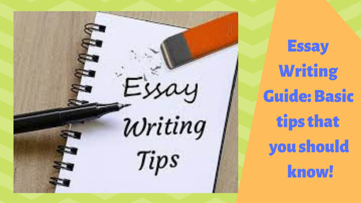 Essay Writing Tips – Writing Your Topic Using Essay-Writing Tips