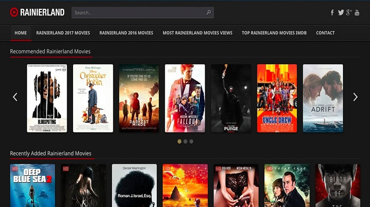 Websites for Consumer to observe Movies